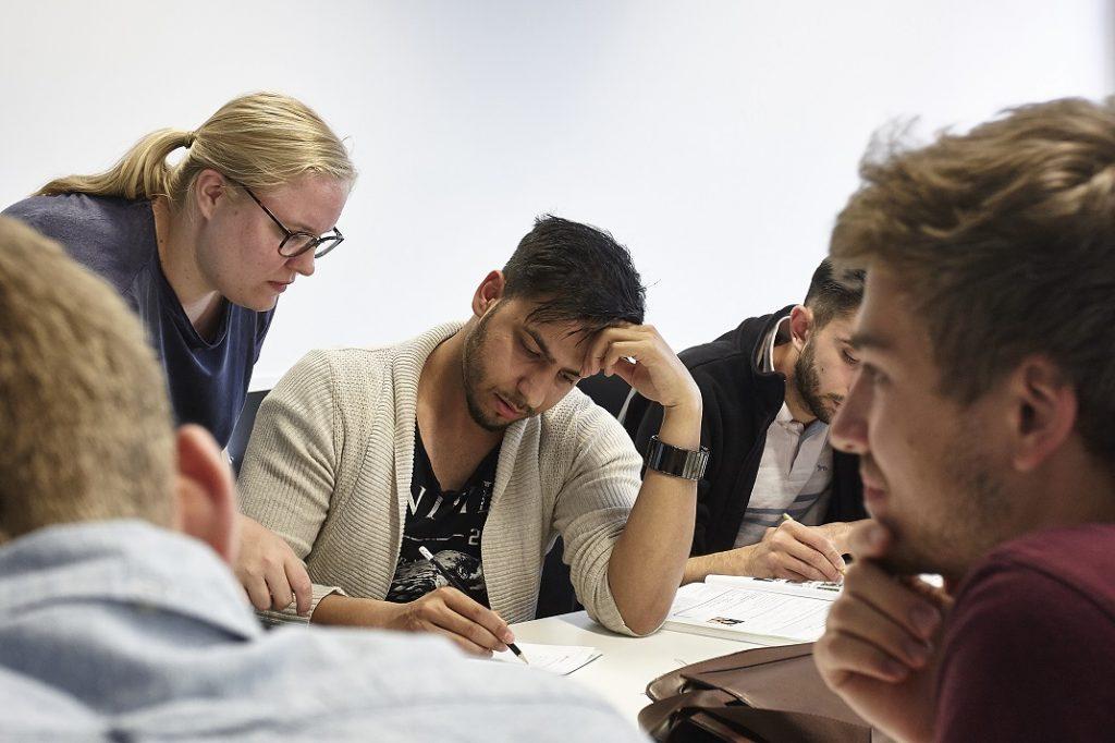 Start ins Deutsche - die Stiftung Junge Weltbürger ist Projektpartner der Goethe-Universität
